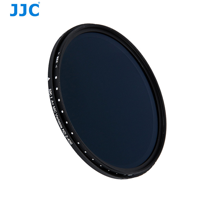 (RAYA)  JJC F-NDV52 Variable ND Neutral Density Filter ND2 to ND400 (52mm)