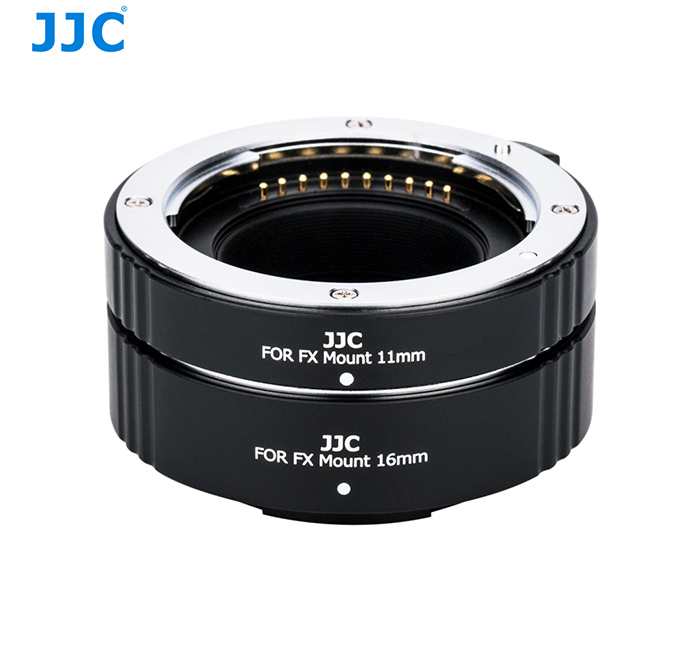 JJC AET-FXS Automatic Extension Tube for Fujifilm X-mount Macro Close up