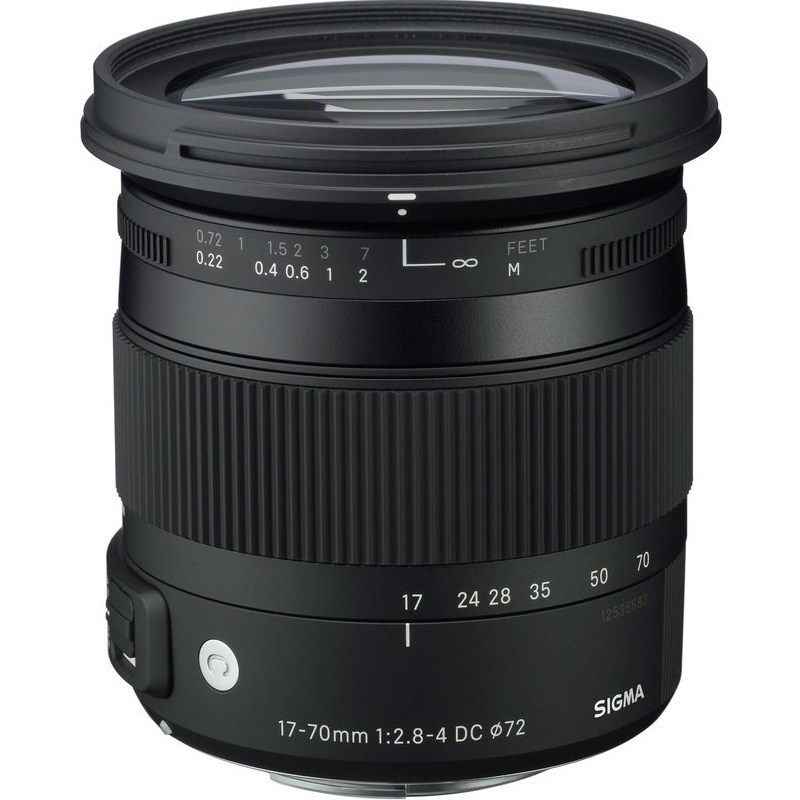 Sigma 17-70mm f2.8-4 DC Macro OS HSM Lens for Canon (Sigma Malaysia)
