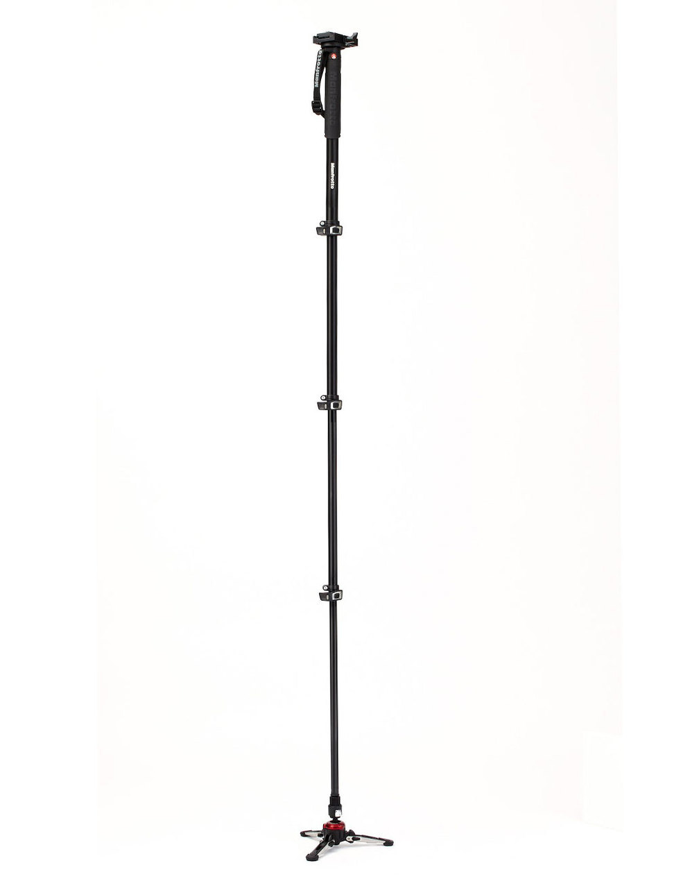 Manfrotto MVMXPROA4577 4 Section XPRO Video Monopod With Sliding Plate & Fluid Base - #MVMXPROA4577