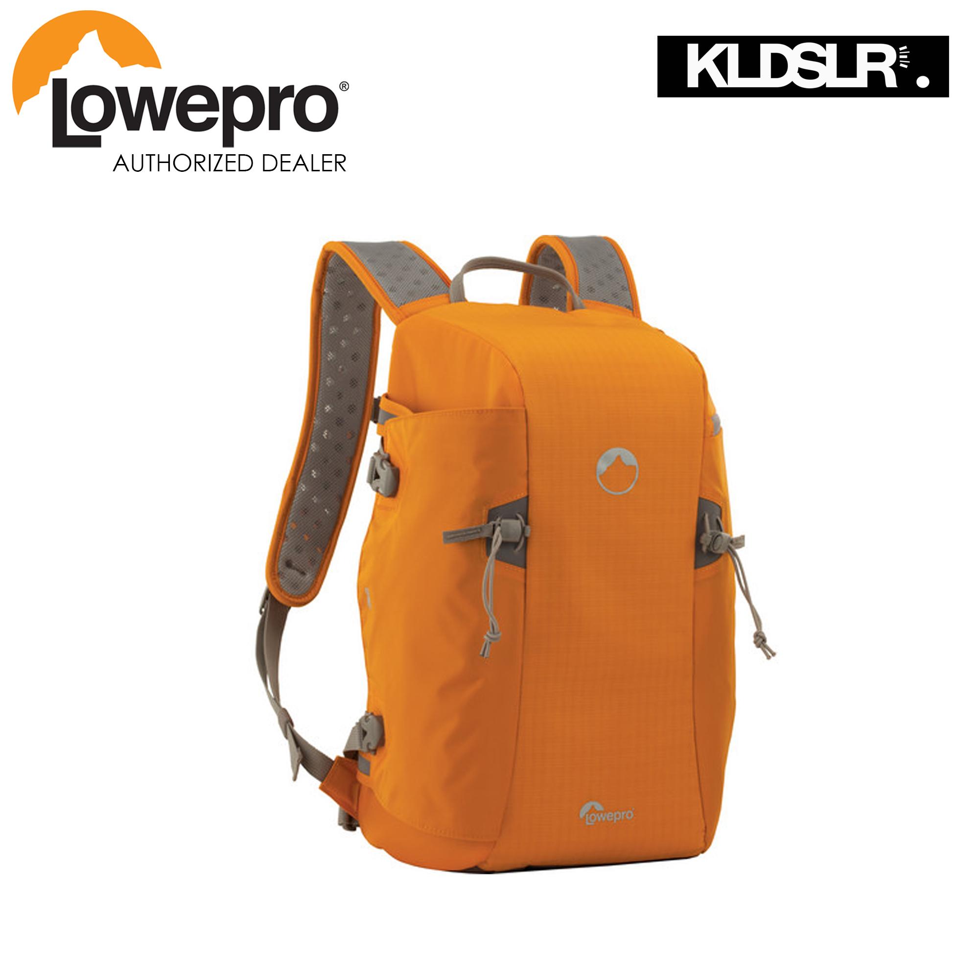 Lowepro Flipside Sport 15l Aw Daypack Orange Light Gray Toploader Zoom 55 Ii Black