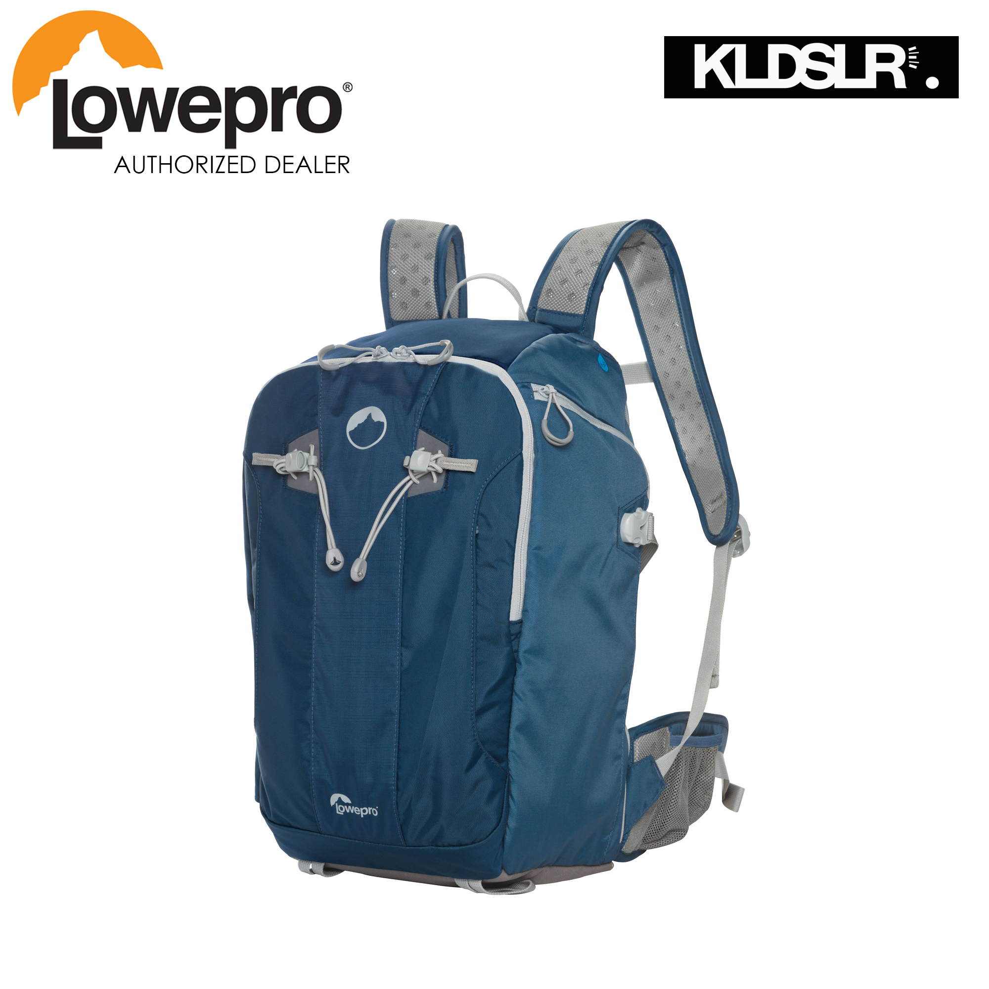 Lowepro Flipside Sport 20l Aw Daypack Galaxy Blue Light Gray Accents Viewpoint Cs 60