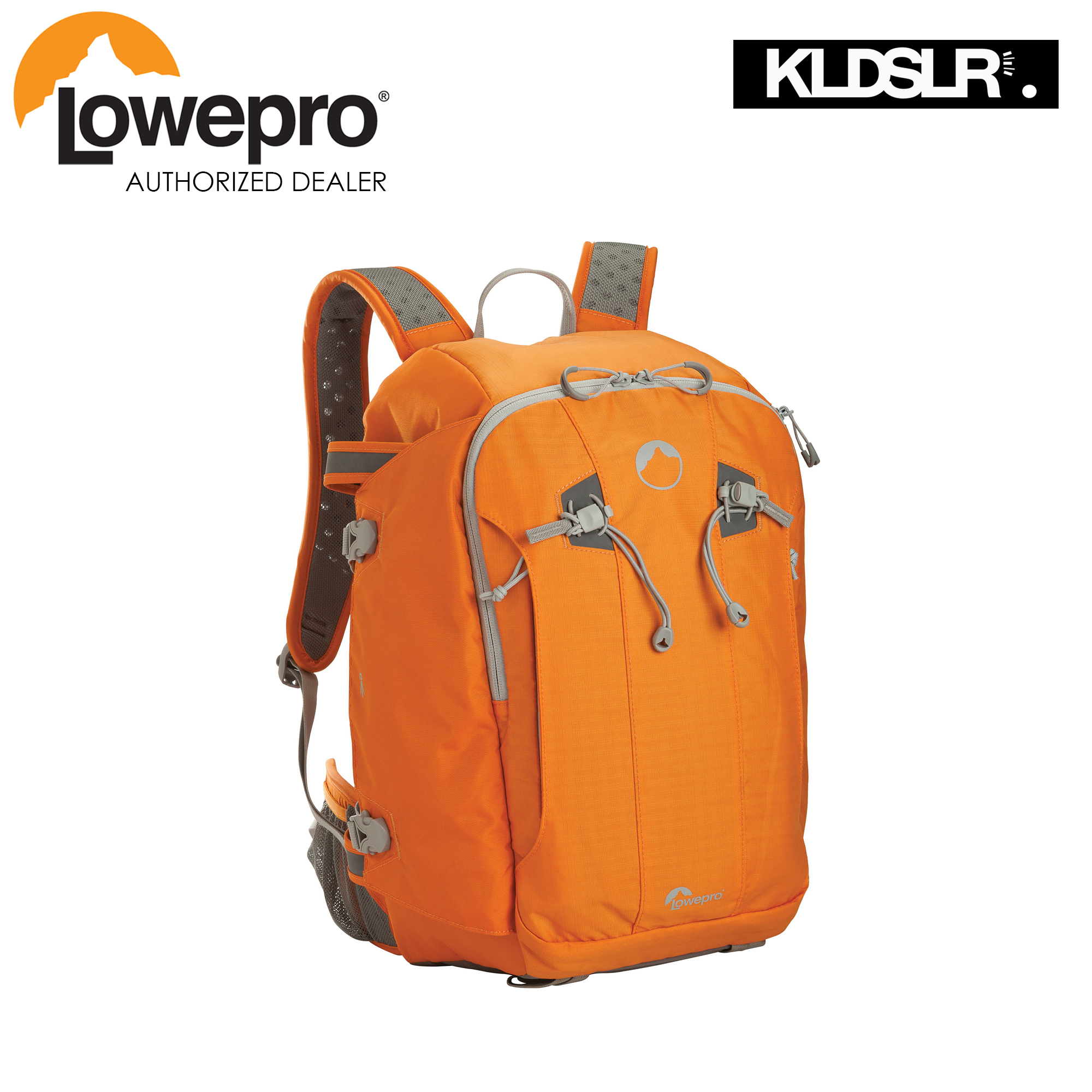 Lowepro Flipside Sport 20l Aw Daypack Orange Light Gray Toploader Zoom 50 Ii Blue Accents