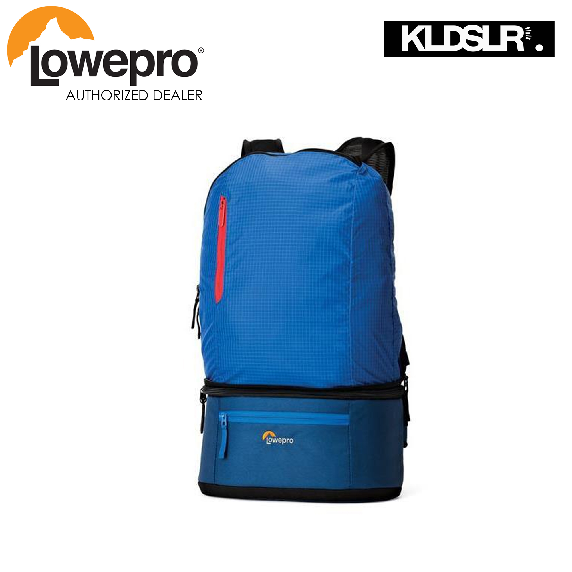 LOWEPRO PASSPORT DUO (HORIZAN BLUE/MIDNIGHT BLUE)