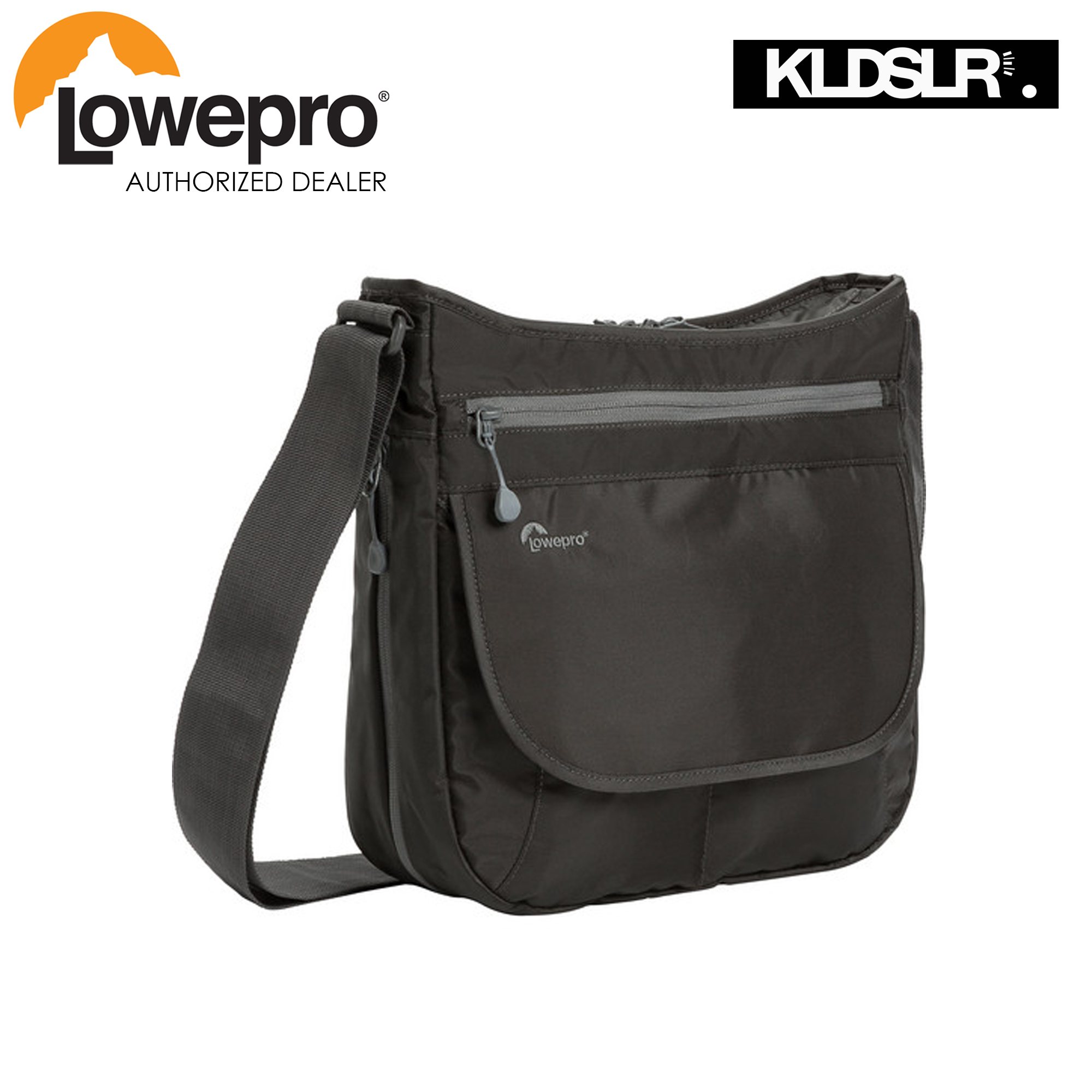 Lowepro StreamLine 250 Shoulder Bag (Slate Grey)