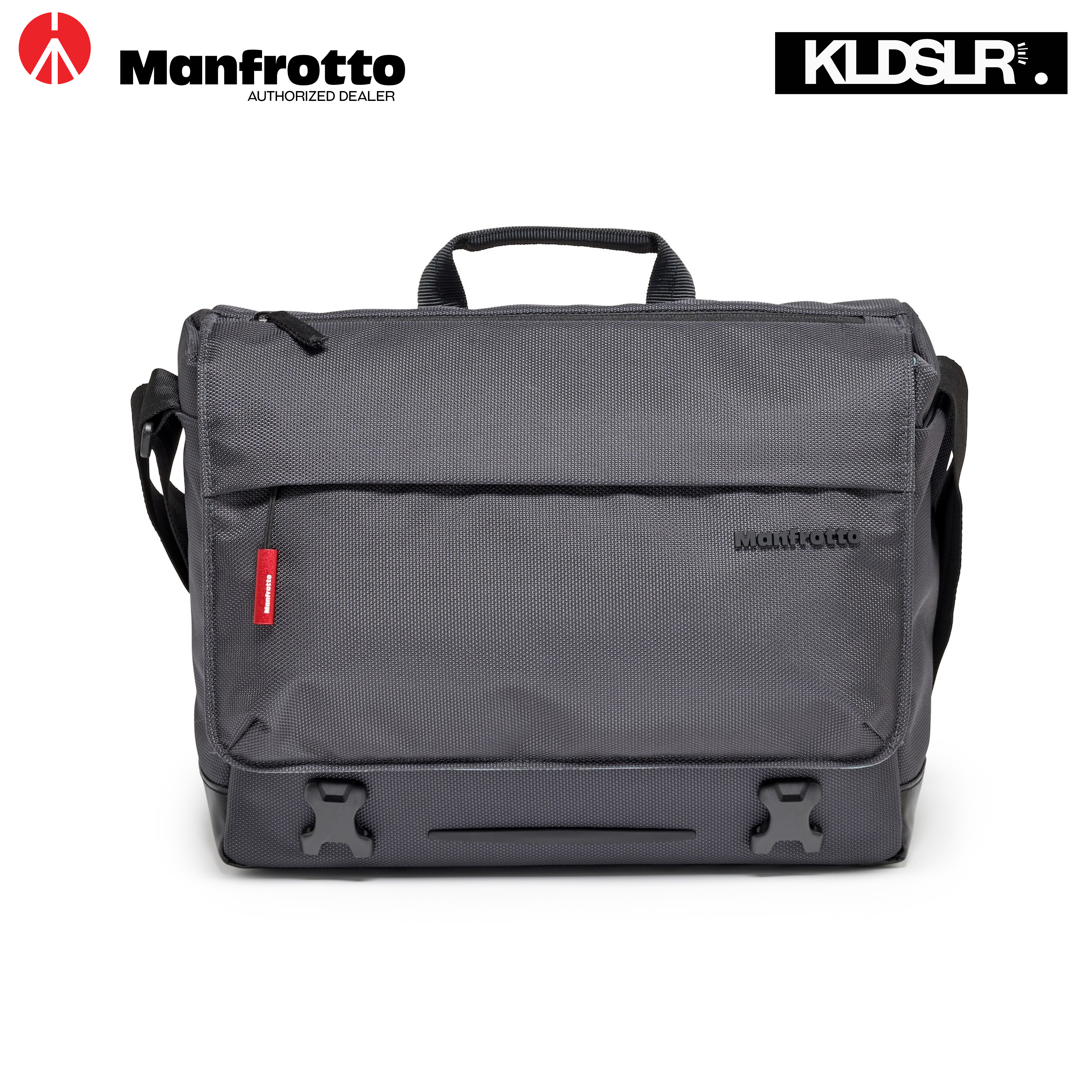 Manfrotto Lifestyle Manhattan Speedy-10 Camera Messenger Bag (Gray) MB MN-M-SD-10