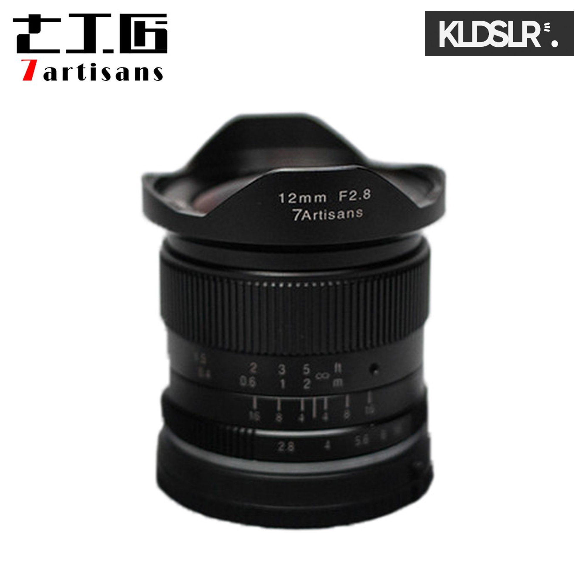(Clearance) 7artisans Photoelectric 12mm f2.8 Lens for Sony E-Mount Cameras