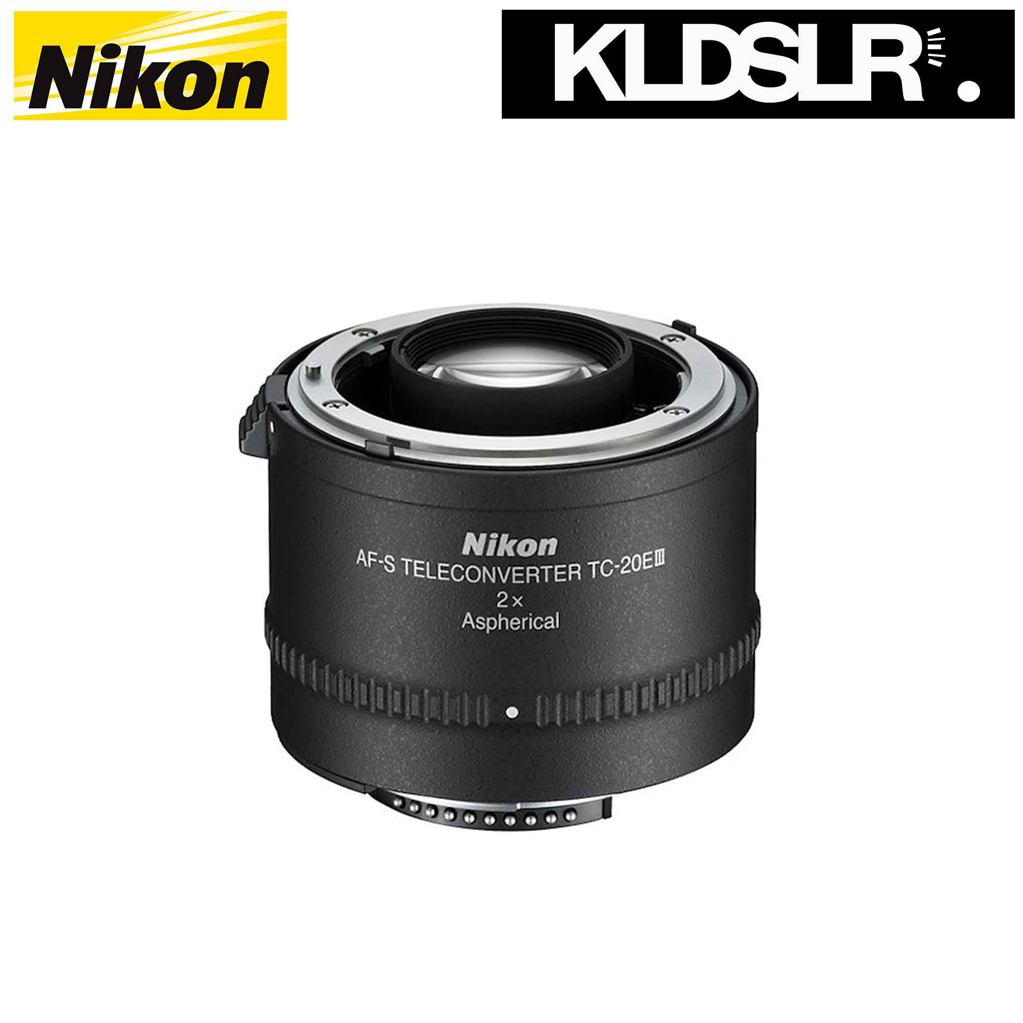 Nikon TC-20E III 2x Teleconverter for Selected AF-S & AF-i Lenses (Nikon Malaysia)