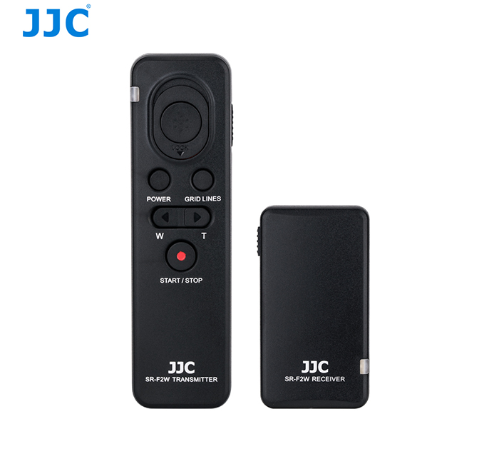 JJC SR-F2W Wireless Remote Controller for Sony Cameras and Camcorders Replaces RMT-VP1K / RM-VPR1 for Sony A6500 / A6400 / A6300 / A6000 / A7 series / RX100 series