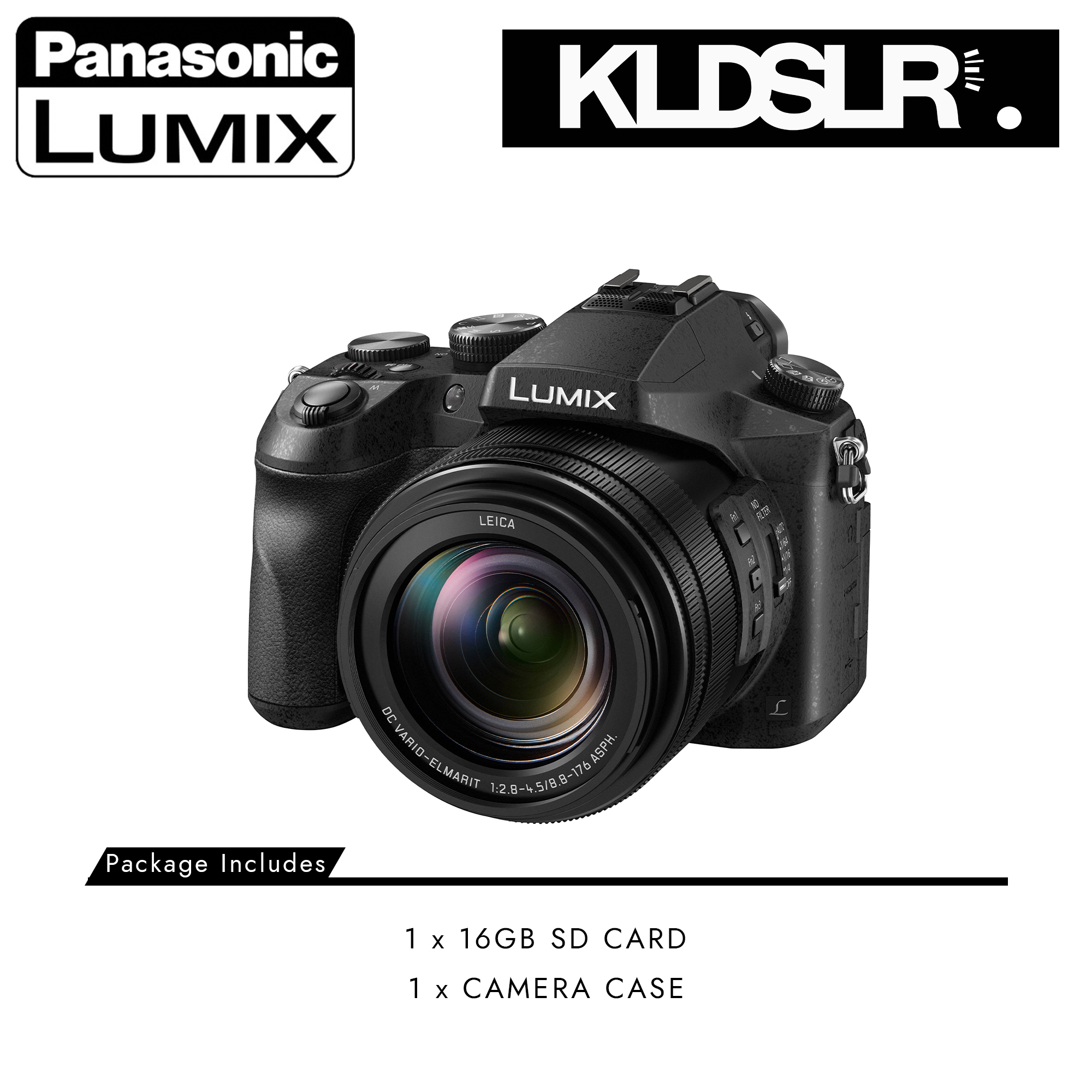 Panasonic Lumix DMC-FZ2500 Digital Camera | FZ2500-PKG