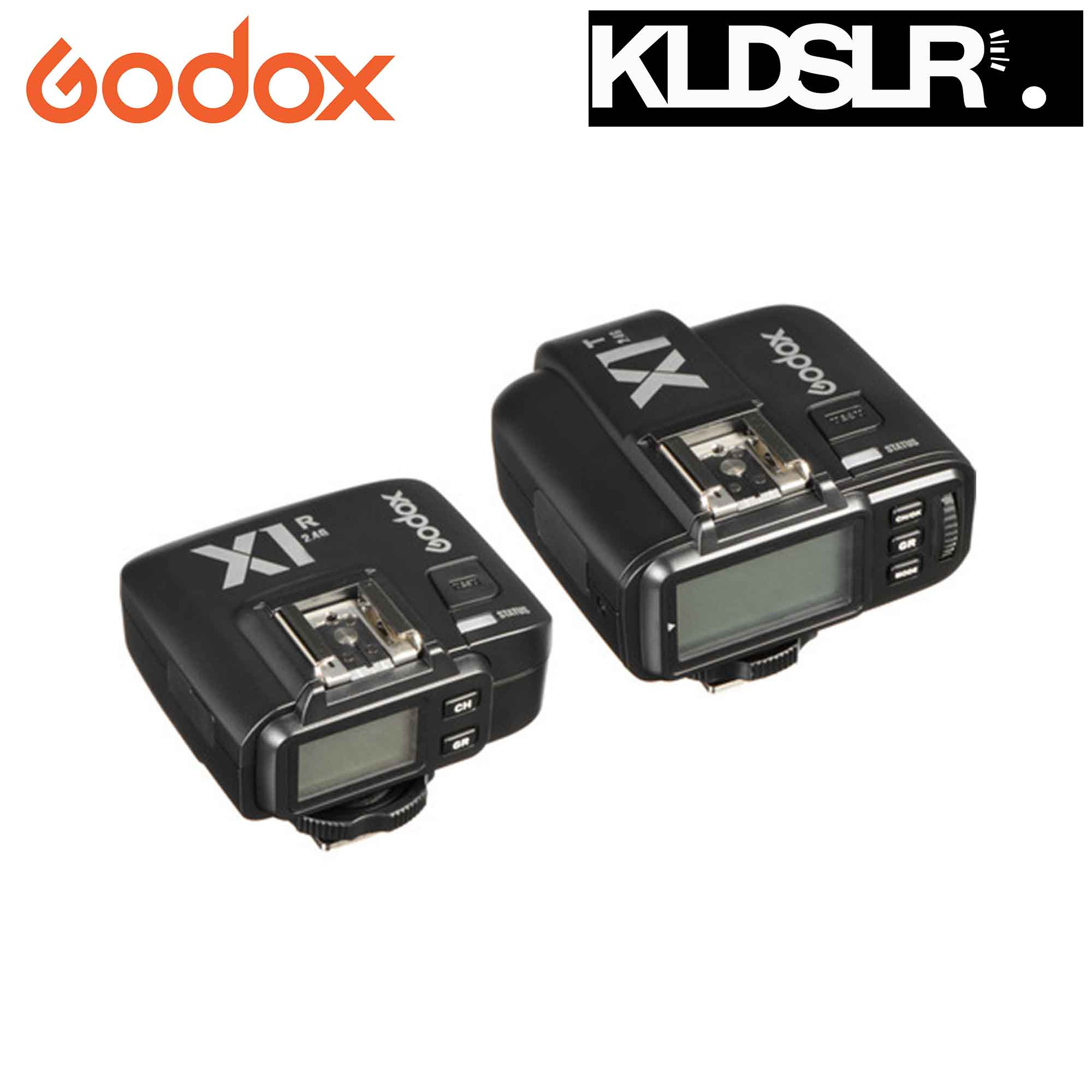 Godox X1C TTL Wireless Flash Trigger Set for Canon (1 Receiver + 1 Transmitter)