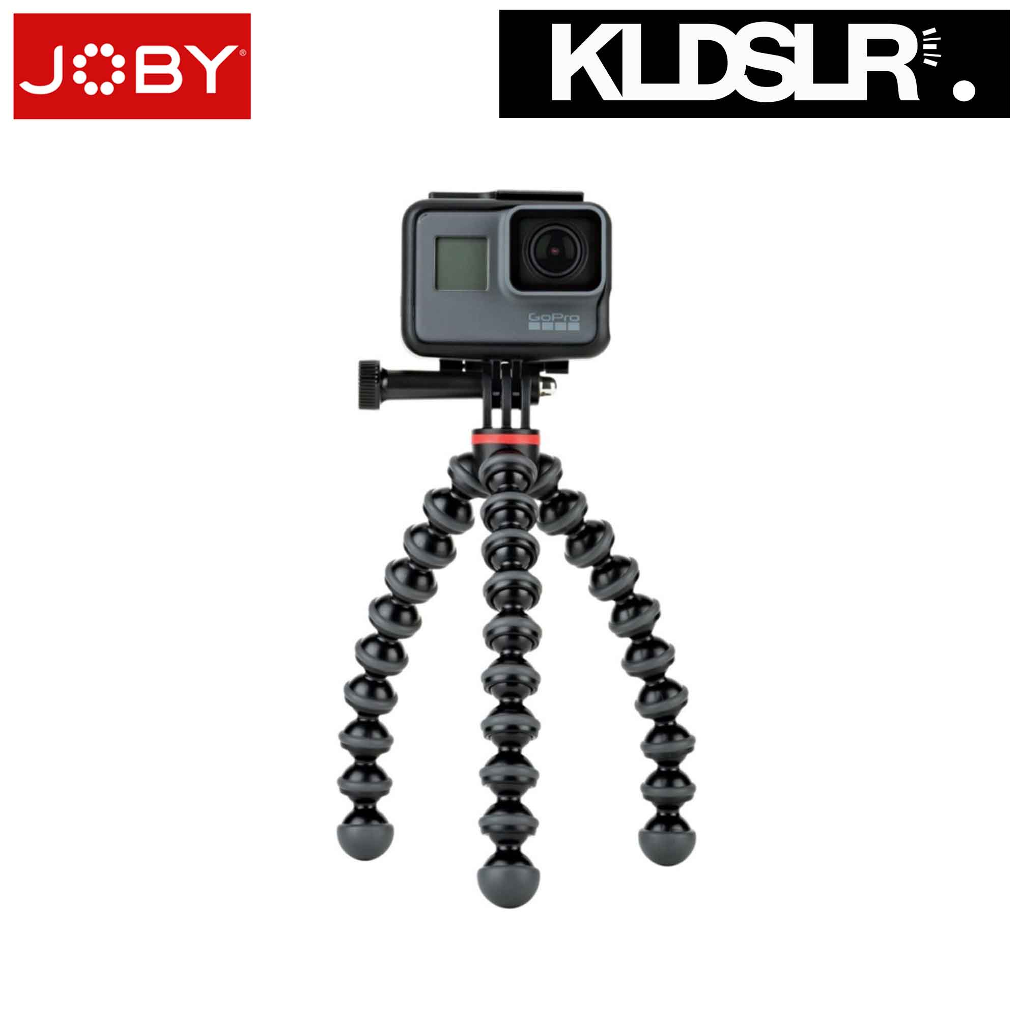 Joby GorillaPod 500 Action Flexible Mini-Tripod (Black/Charcoal)