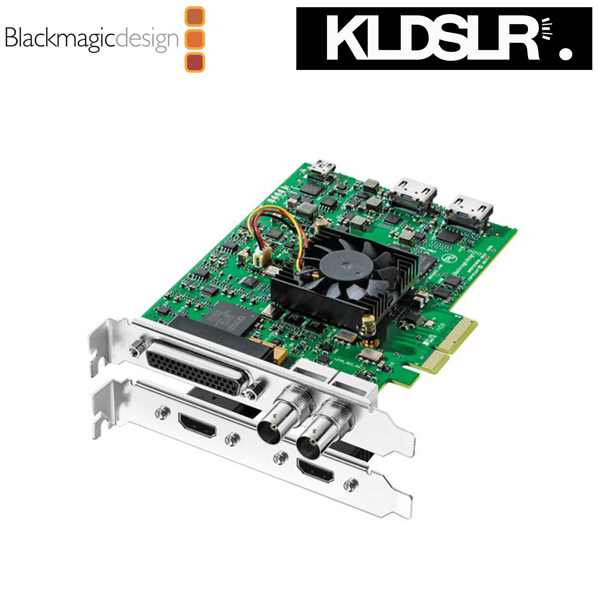 Blackmagic Design DeckLink Studio 4K Capture & Playback Card  (Blackmagic Malaysia)