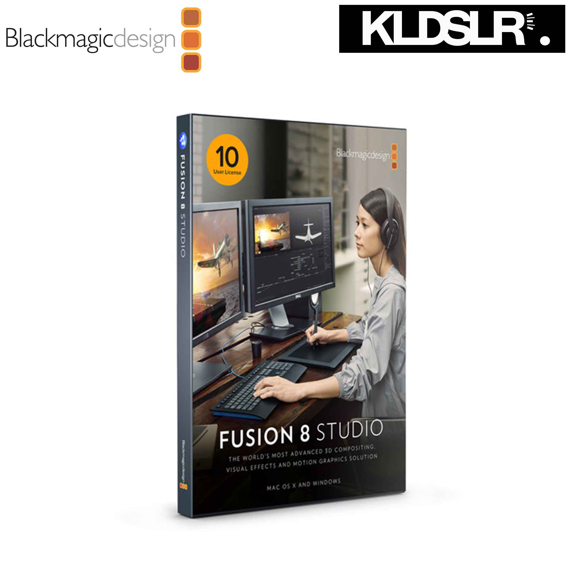 Blackmagic Design Fusion Studio MultiPack with 10-User License (Blackmagic Malaysia)
