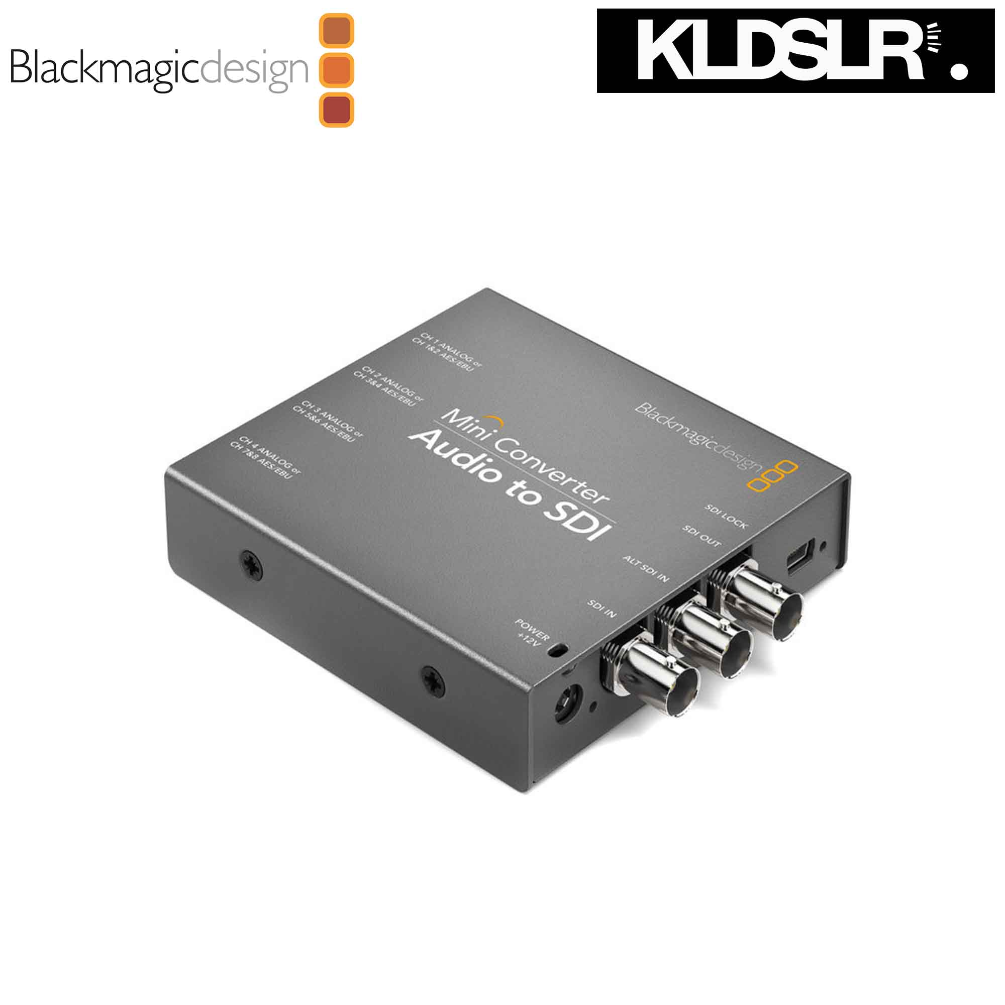 Blackmagic Design Mini Converter Audio to SDI (Blackmagic Malaysia)