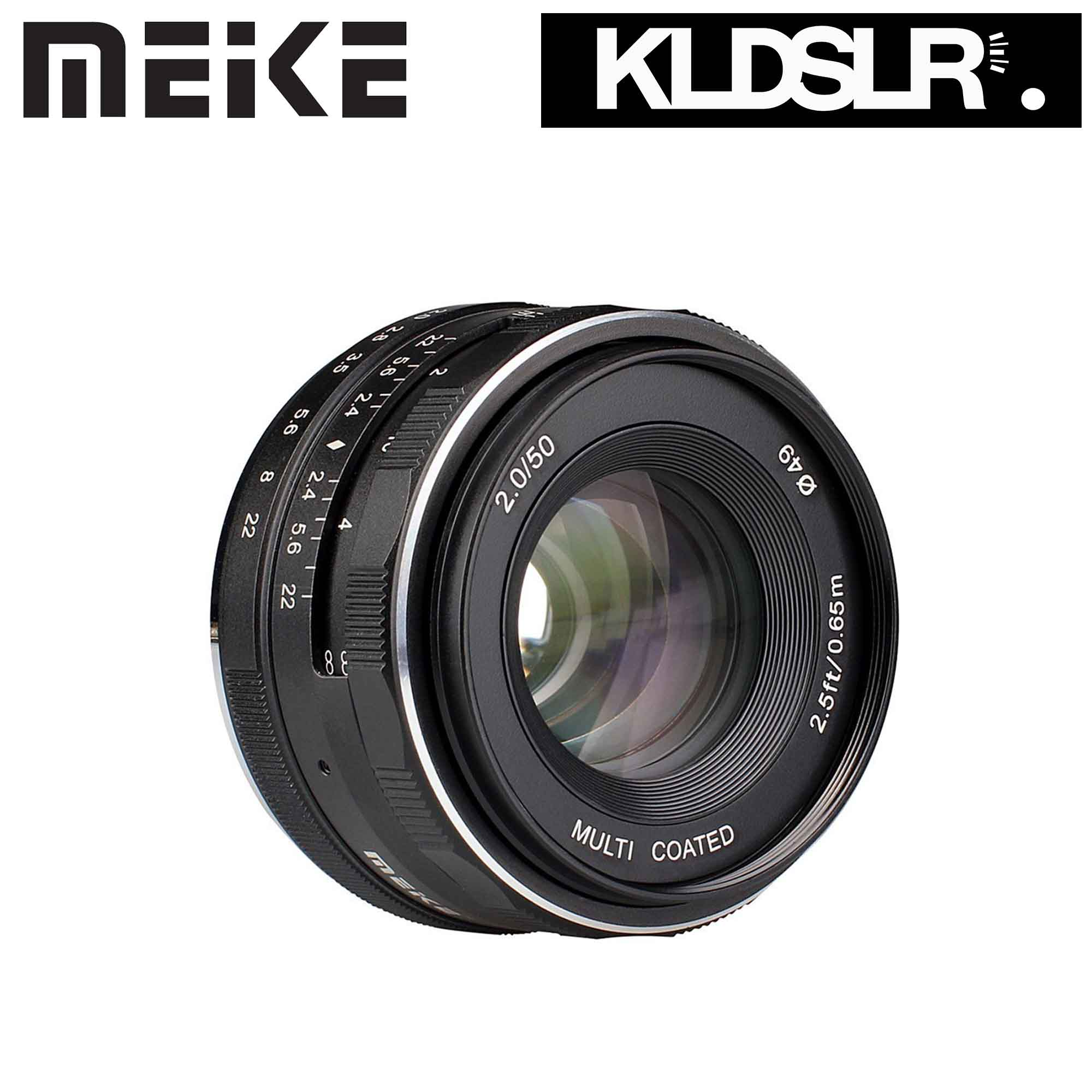 (Ready Stock) Meike 50mm F2.0 For Fujifilm X Mount Only