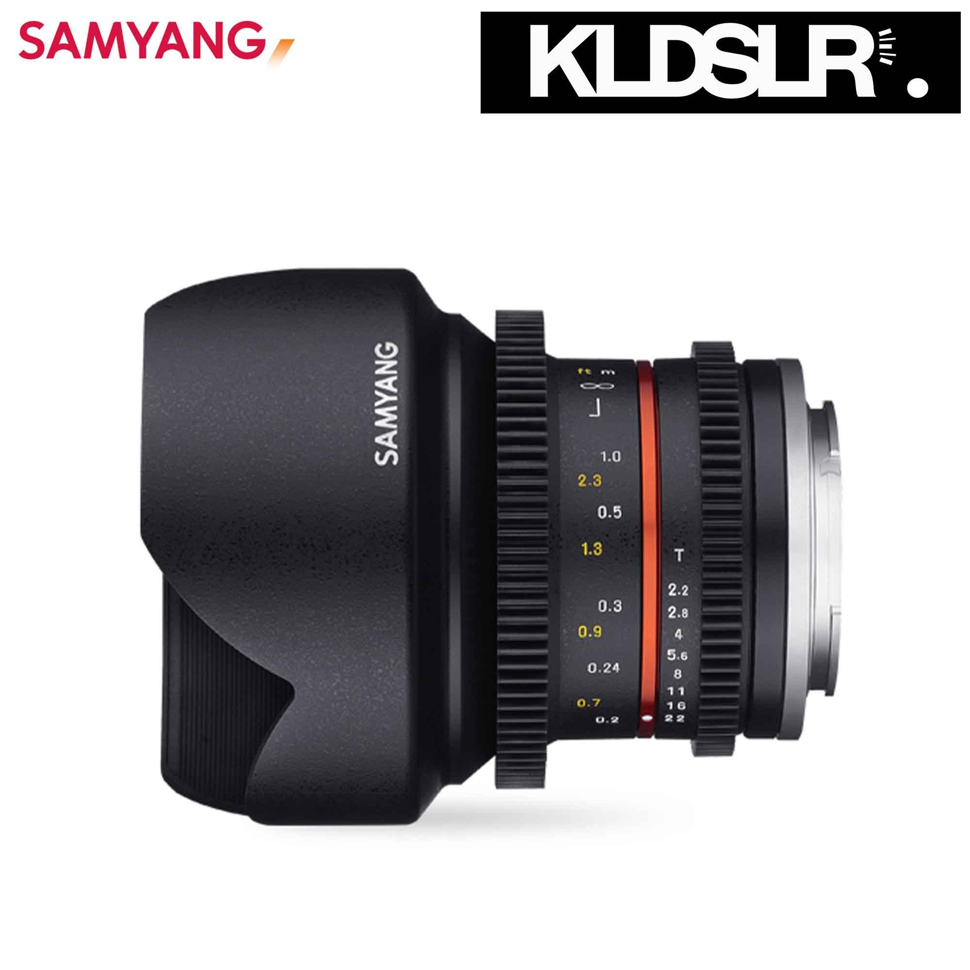 Deal Of The Month) Samyang 12mm T2 2 Cine NCS CS (Fuji X)
