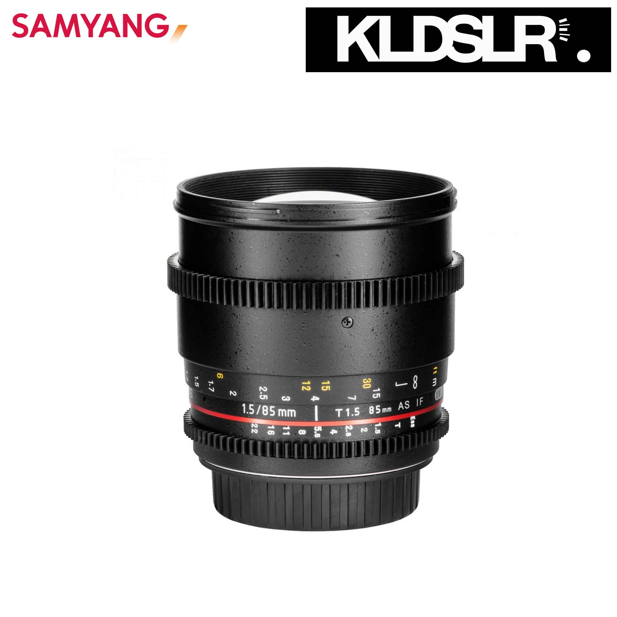 06 Samyang 85mm T1.5 AS IF UMC VDSLR II  Lens for Sony DSLR