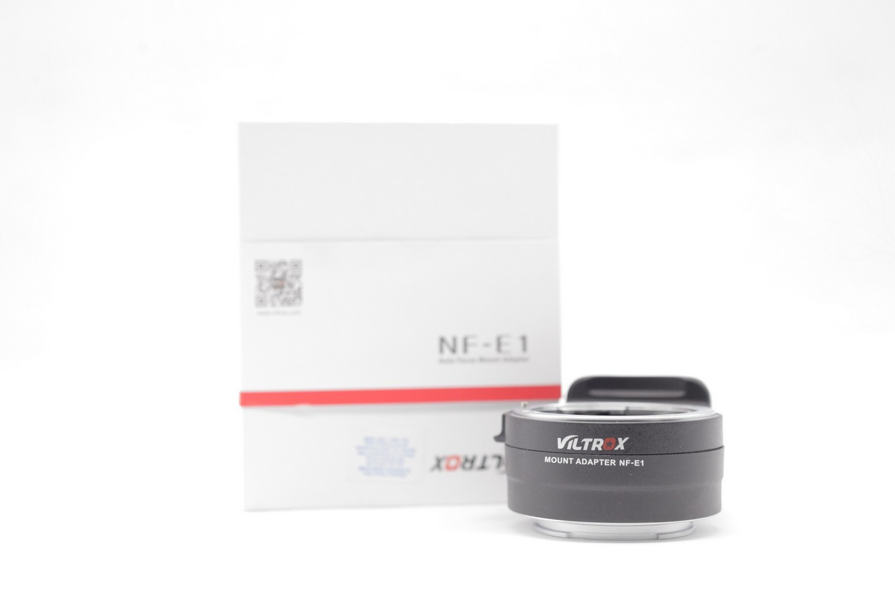 Used - Viltrox NF-E1 Auto Focus Lens Mount Adapter