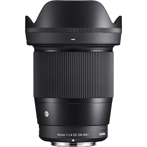 (PROMO) Sigma 16mm f1.4 DC DN Contemporary Lens for Sony E (New 3 Months Warranty)