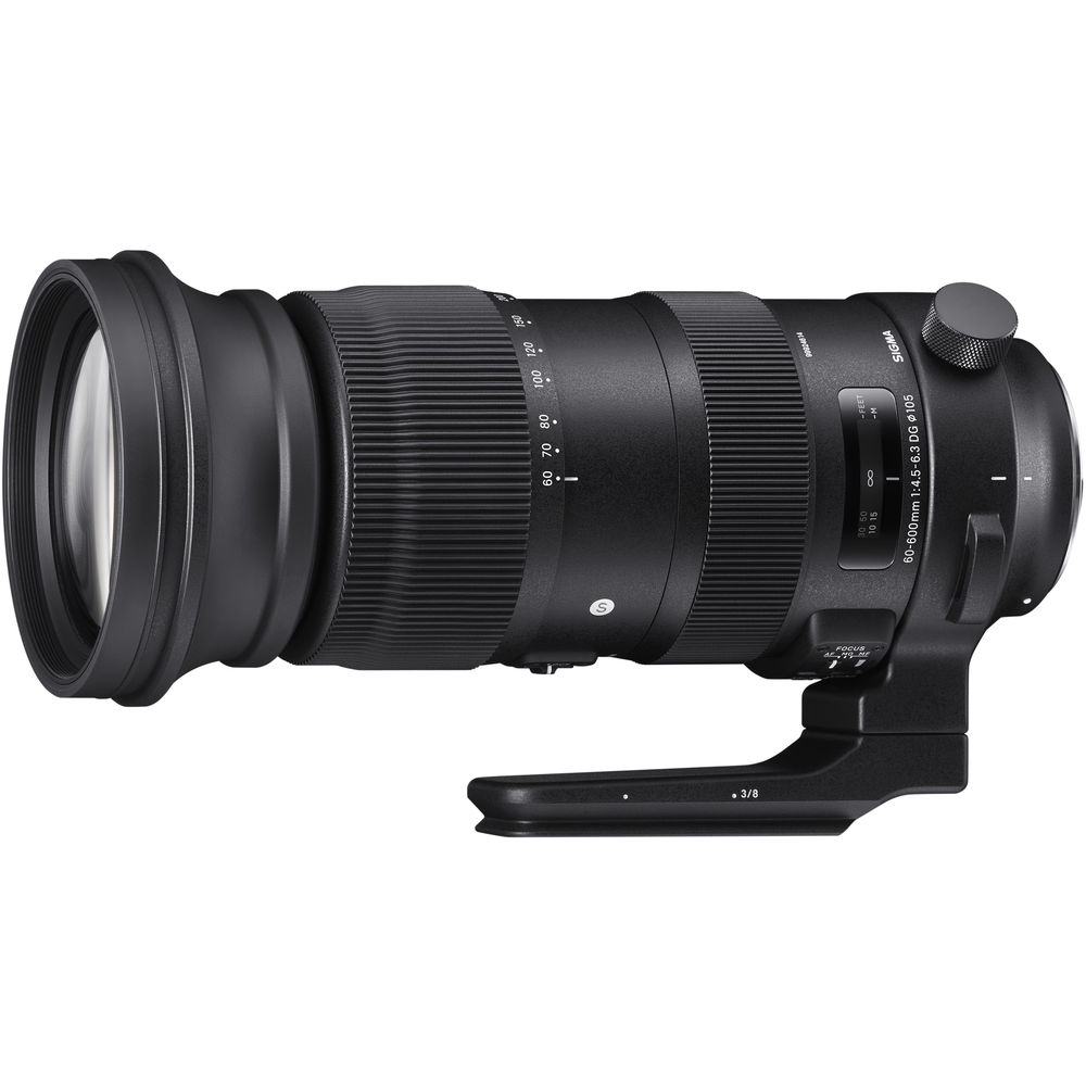 Sigma 60-600mm f/4.5-6.3 DG OS HSM Sports Lens for Canon EF Mount  (Sigma Malaysia)