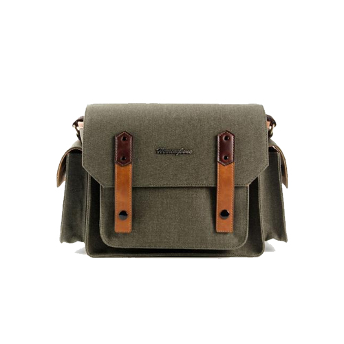 Herringbone Papas Pocket V3 Medium Camera Bag (Olive)
