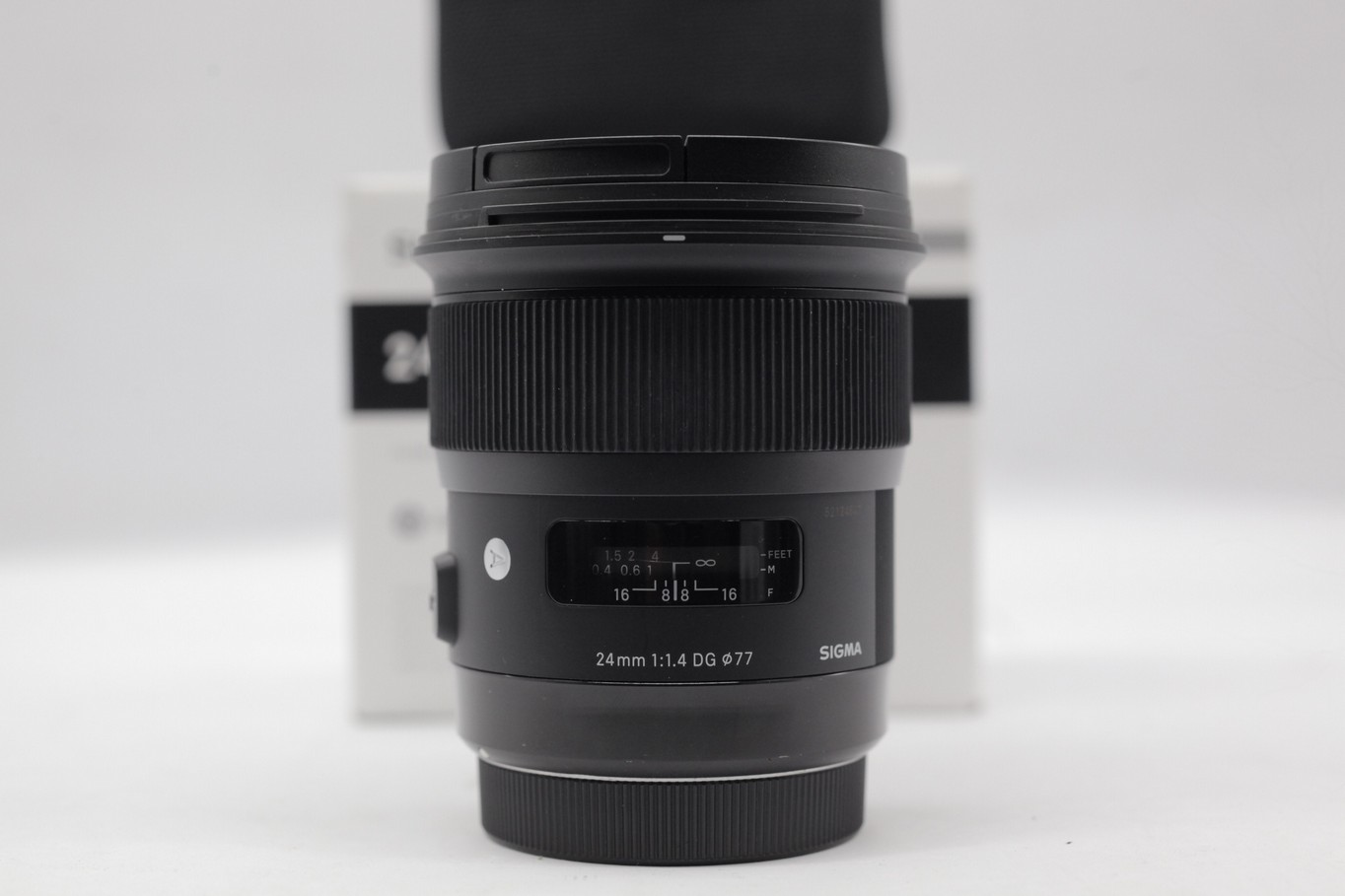 Used Sigma 24mm F 14 Dg Hsm Art Lens For Canon 50mm