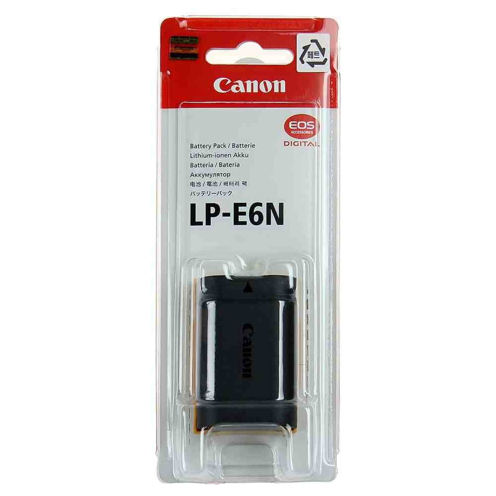 Original Canon LP-E6N Lithium-Ion Battery Pack (7.2V, 1865mAh)