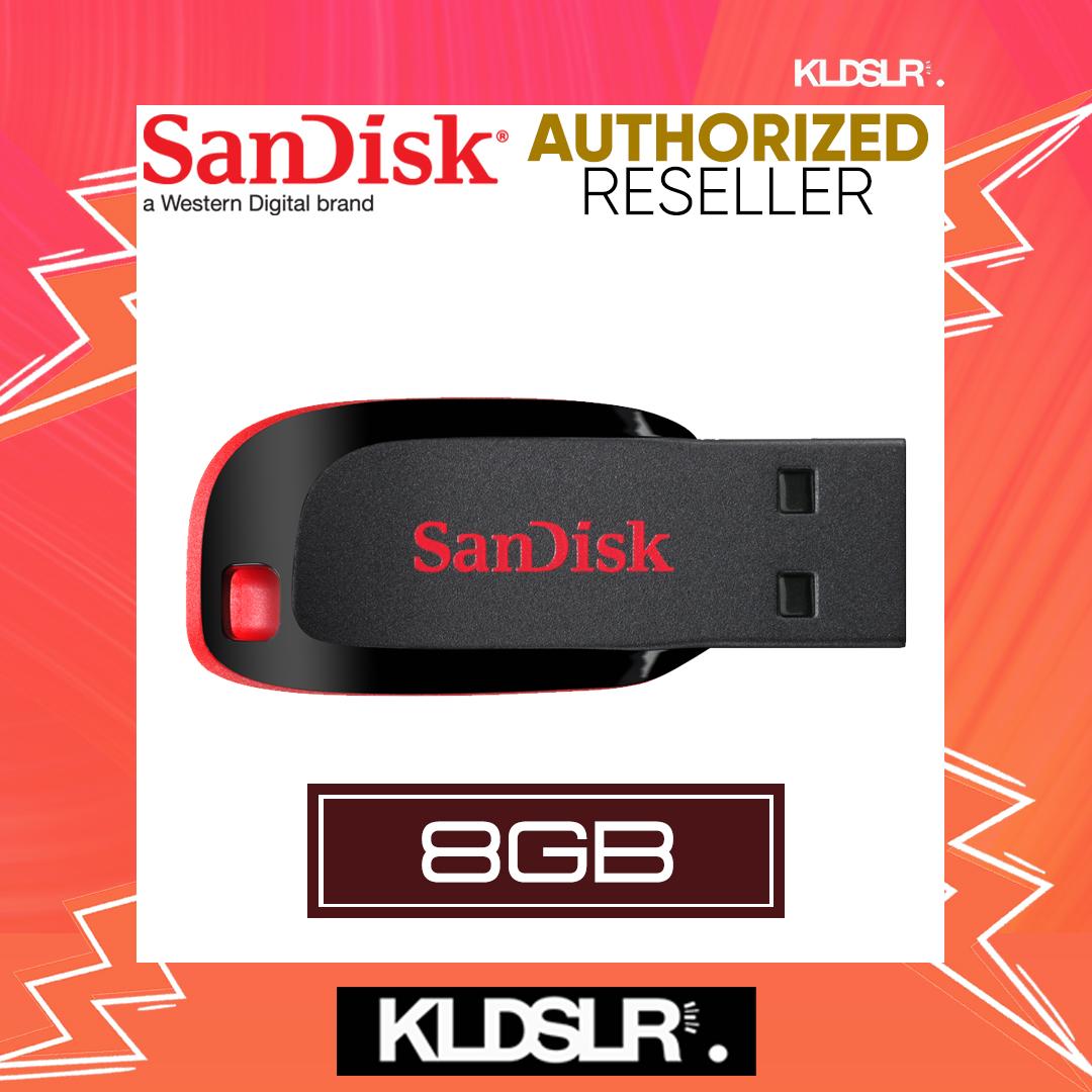 c24712f270b SanDisk Cruzer Blade 8GB USB 2.0 Flash Drive (CZ50) (Sandisk Malaysia)