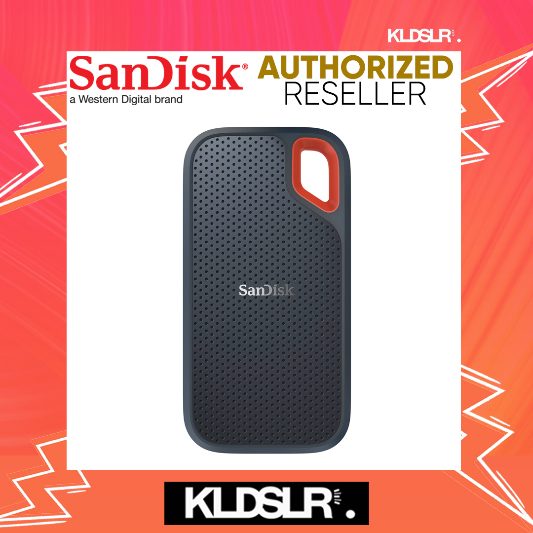 SanDisk 250GB Extreme Portable USB 3.1 Type-C External SSD (SanDisk Malaysia) (SDSSDE60-250G-G25)