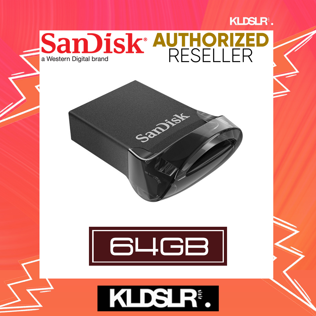SanDisk Ultra Fit 64GB USB 3.1 Flash Drive CZ430 (SDCZ430-064G-G46) Pendrive (SanDisk Malaysia)