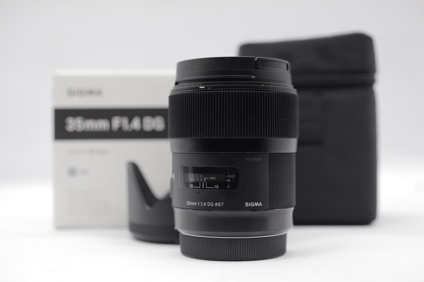 Used Sigma 35mm F14 Dg Art Canon Hsm I