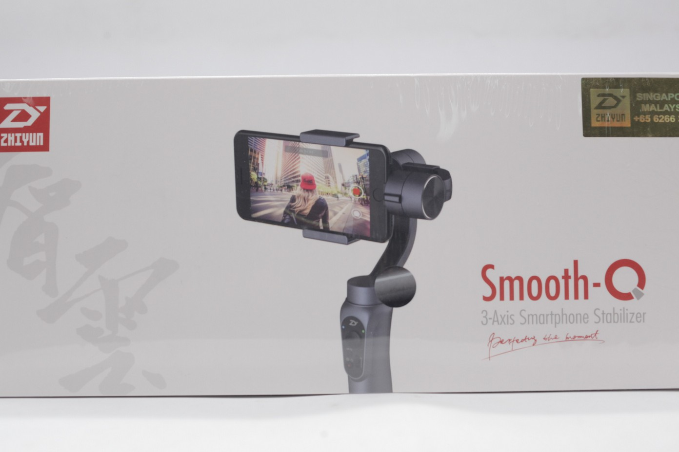 Used Zhiyun Smooth Q 3 Axis Handheld Gimbal Stabilizer Tech Smartphone