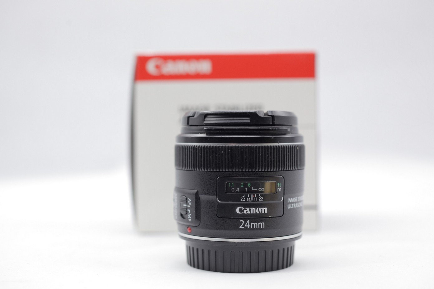 Used - Canon EF 24mm F2.8 IS USM Lens - ( TS - KL )