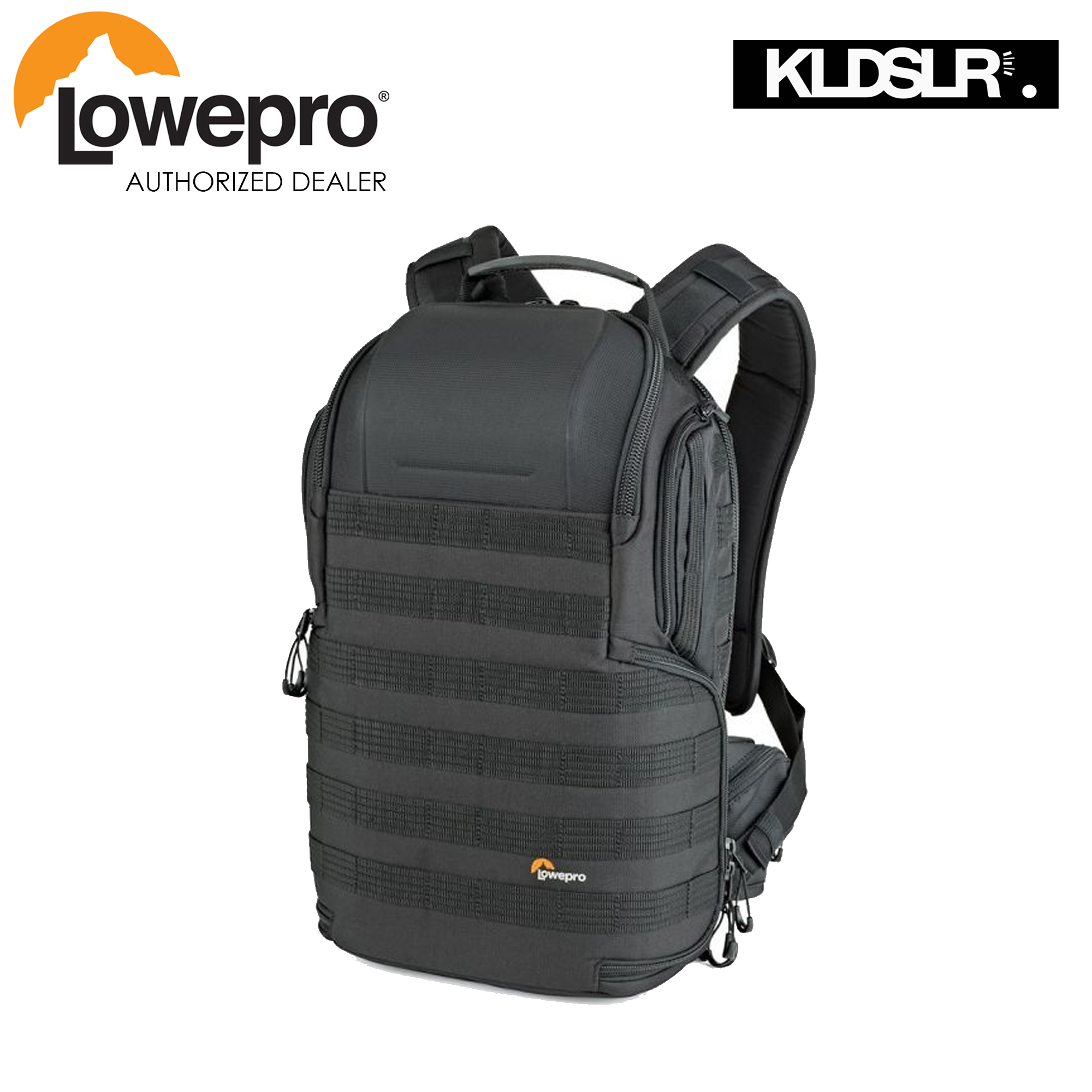 Lowepro ProTactic 350 AW II Camera and Laptop Backpack (Black)  (Lowepro Malaysia)