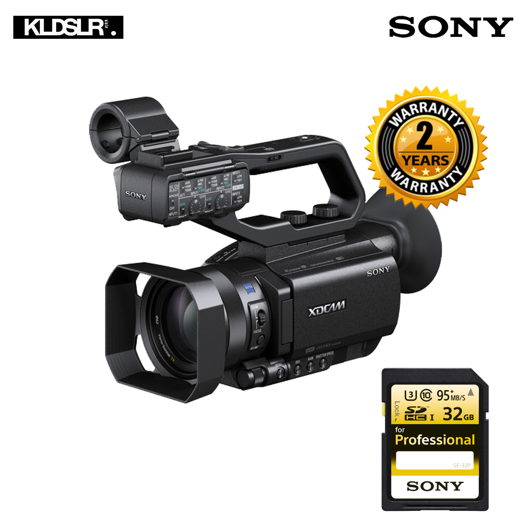 Sony PXW-X70 Professional XDCAM Compact Camcorder(Free 32GB Sony SF-32P)