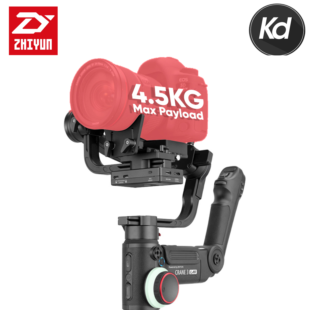 (Ready Stock) Zhiyun-Tech CRANE 3 LAB Handheld Stabilizer (Zhiyun Malaysia)