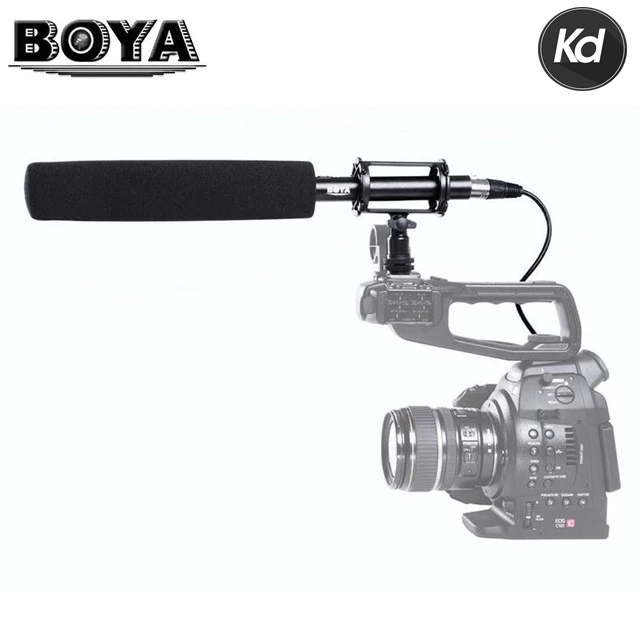 (APRIL) BOYA BY-PVM1000L Shotgun Microphone