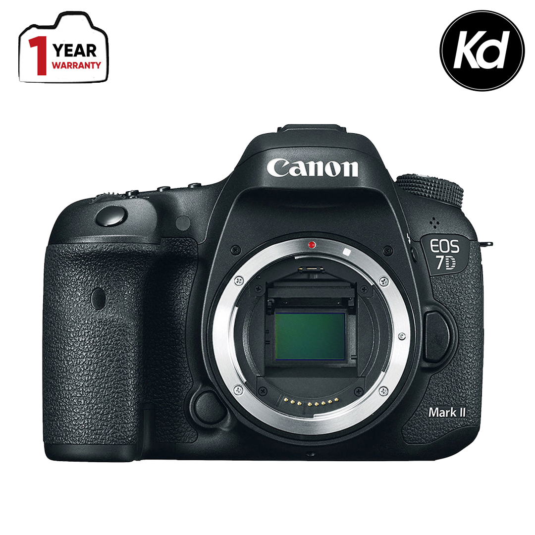 Canon EOS 7D Mark II DSLR Camera (Body Only) (New 3 Months Warranty)