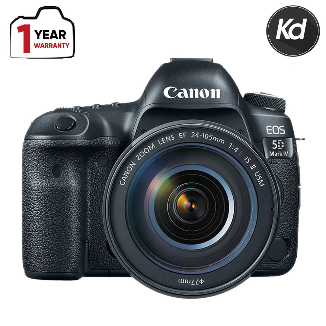 Canon EOS 5D Mark IV DSLR Camera with 24-105mm f/4L II Lens (New 3 Months Warranty) (5D4)