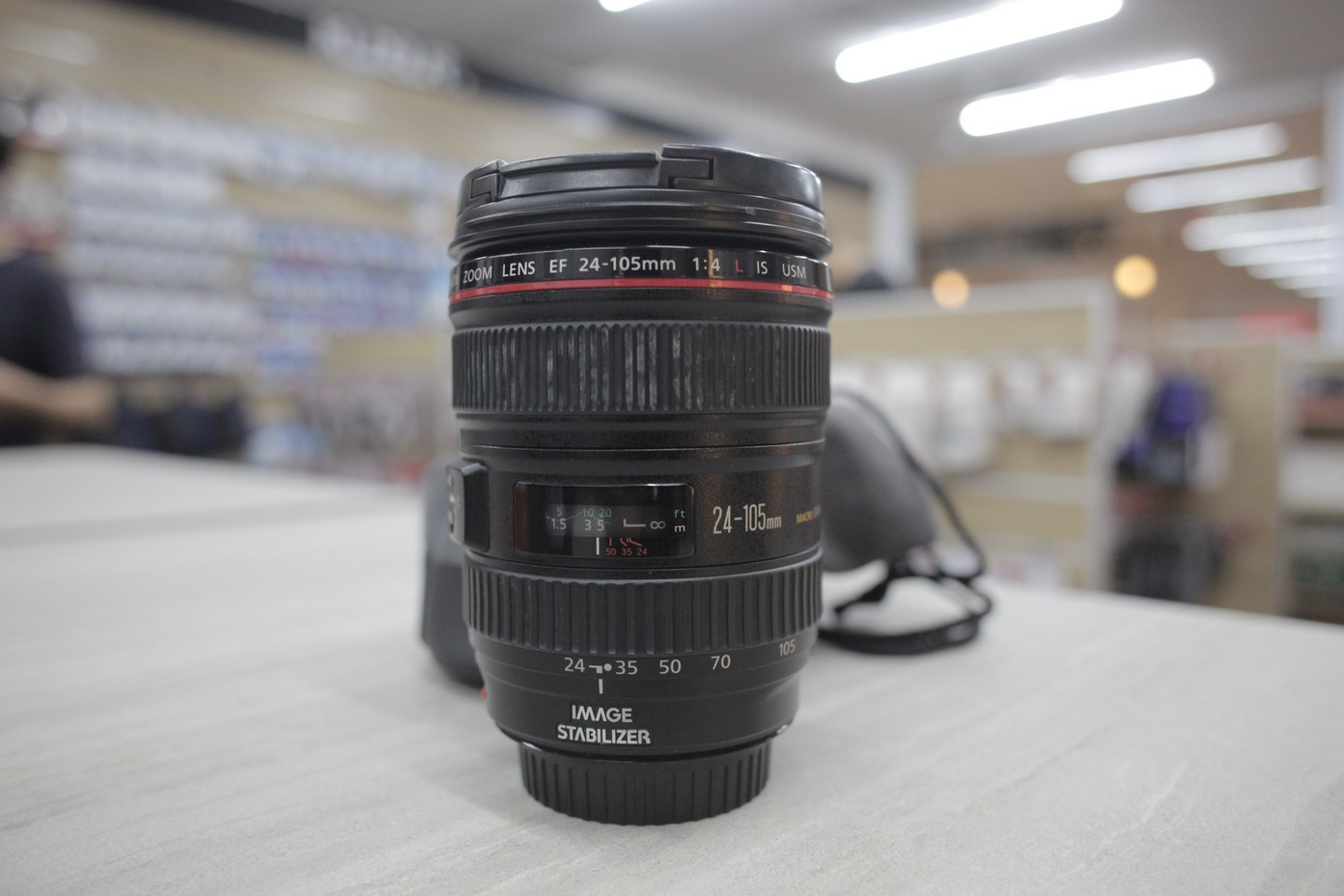 Used - Canon EF 24-105mm F4L IS USM Lens (TS-KL)