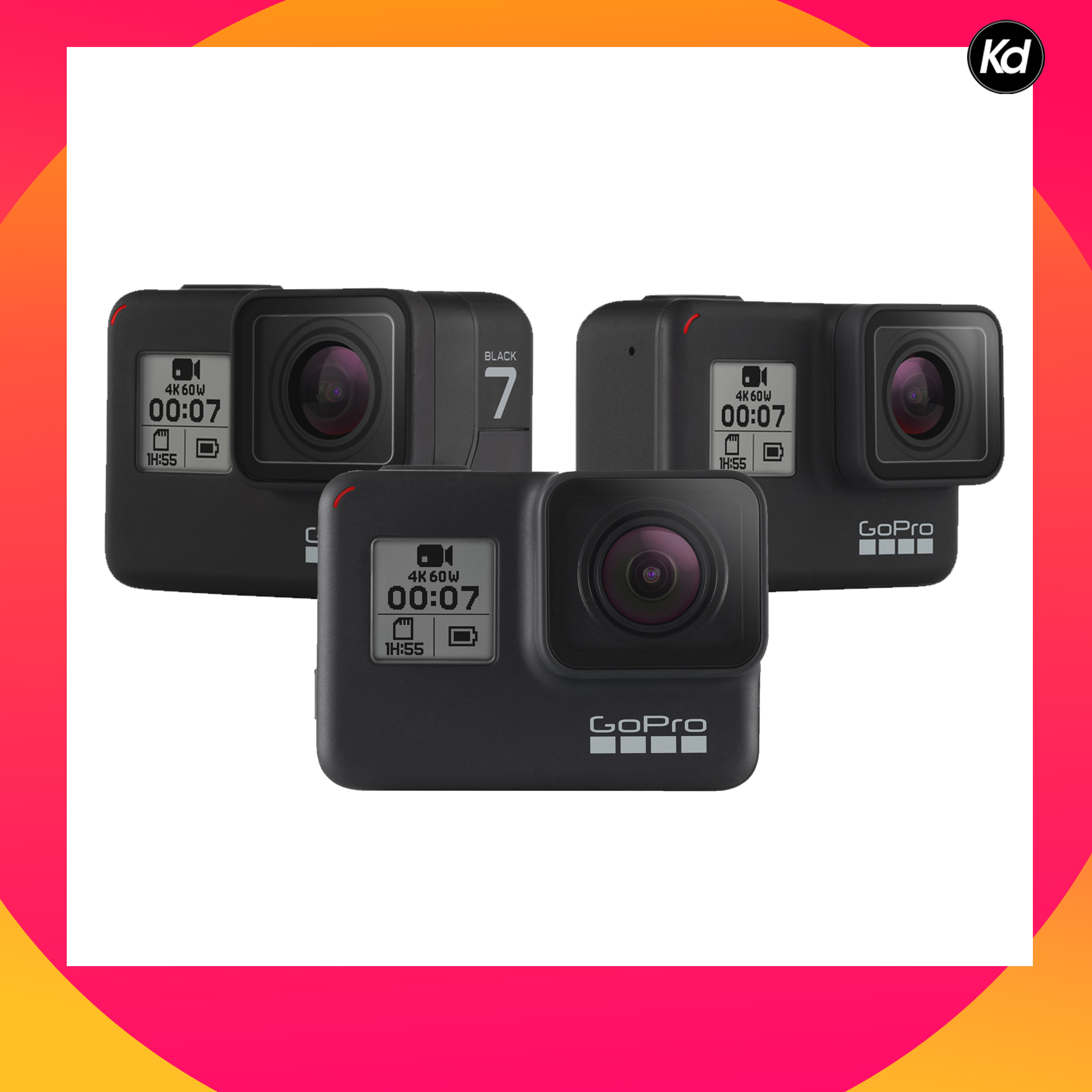 GoPro HERO7 Black (GoPro Hero 7)