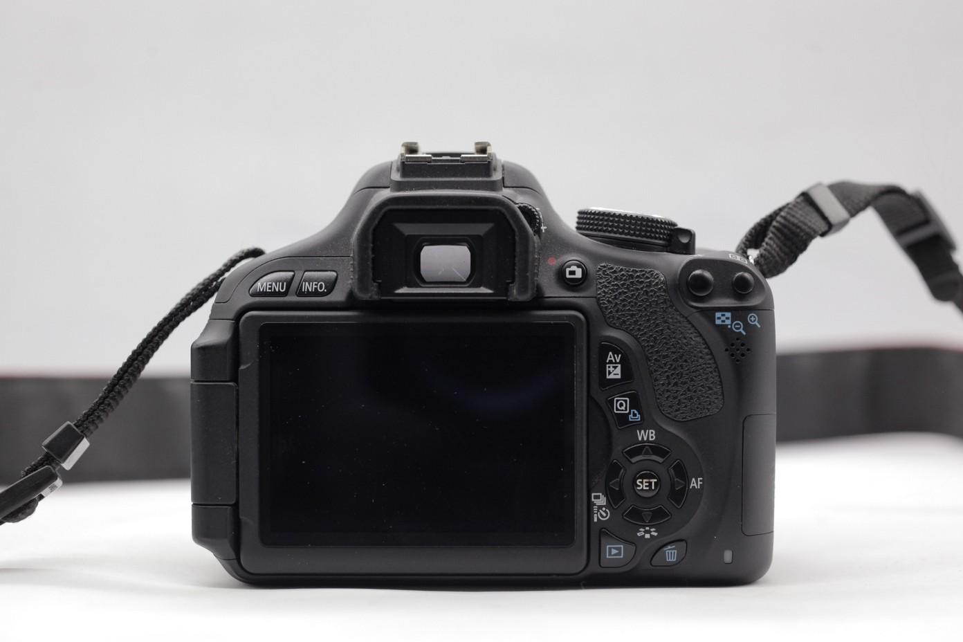 Used - Canon 600D DSLR (SC 6k) (Body)