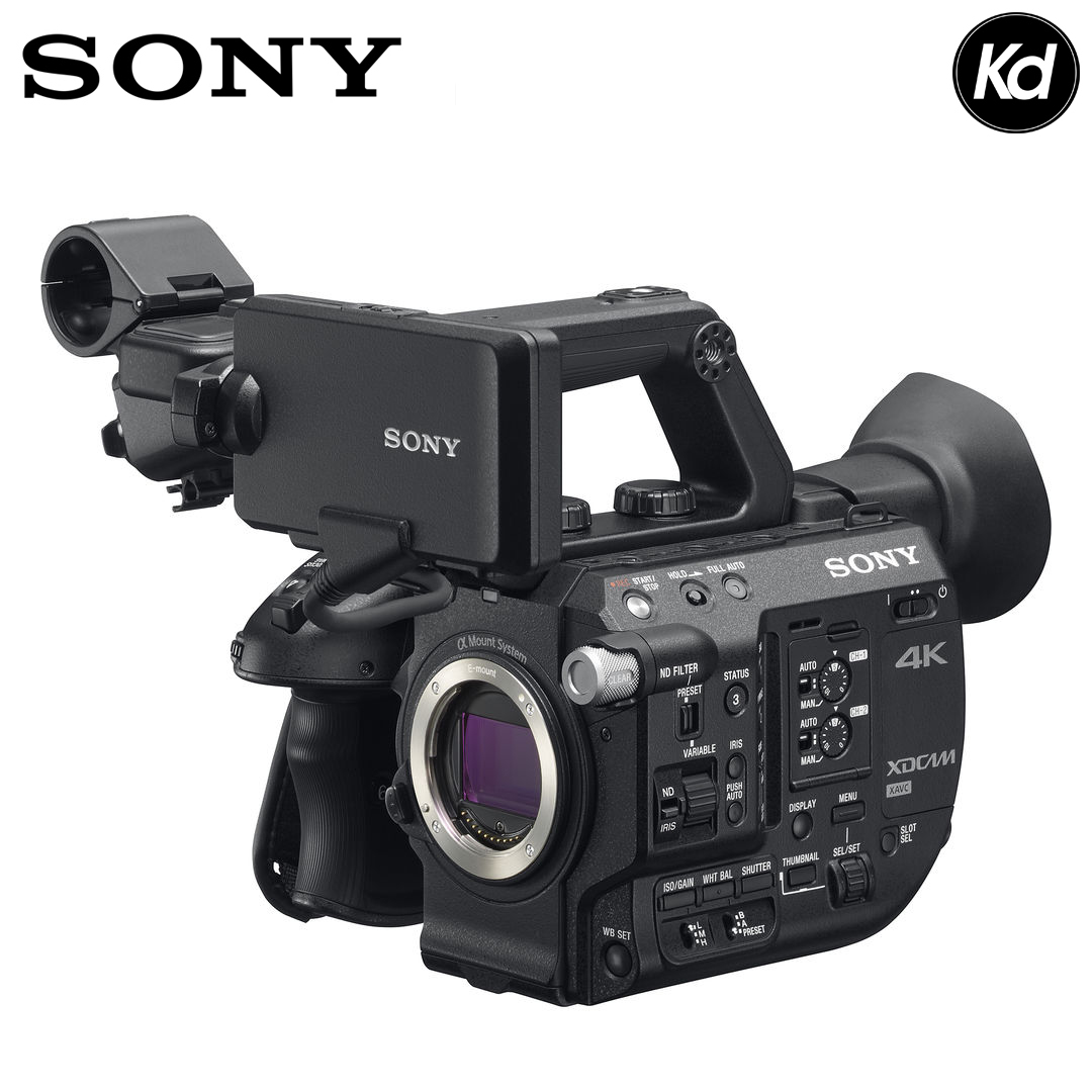 Sony PXW-FS5M2 4K XDCAM Super 35mm Compact Camcorder (Sony Malaysia)