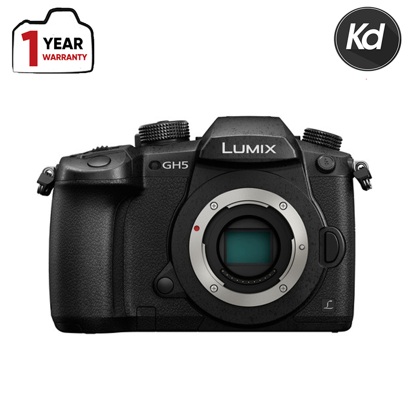 Panasonic Lumix DC-GH5 Mirrorless Micro Four Thirds Digital Camera (Body Only) (New 3 Months Warranty)