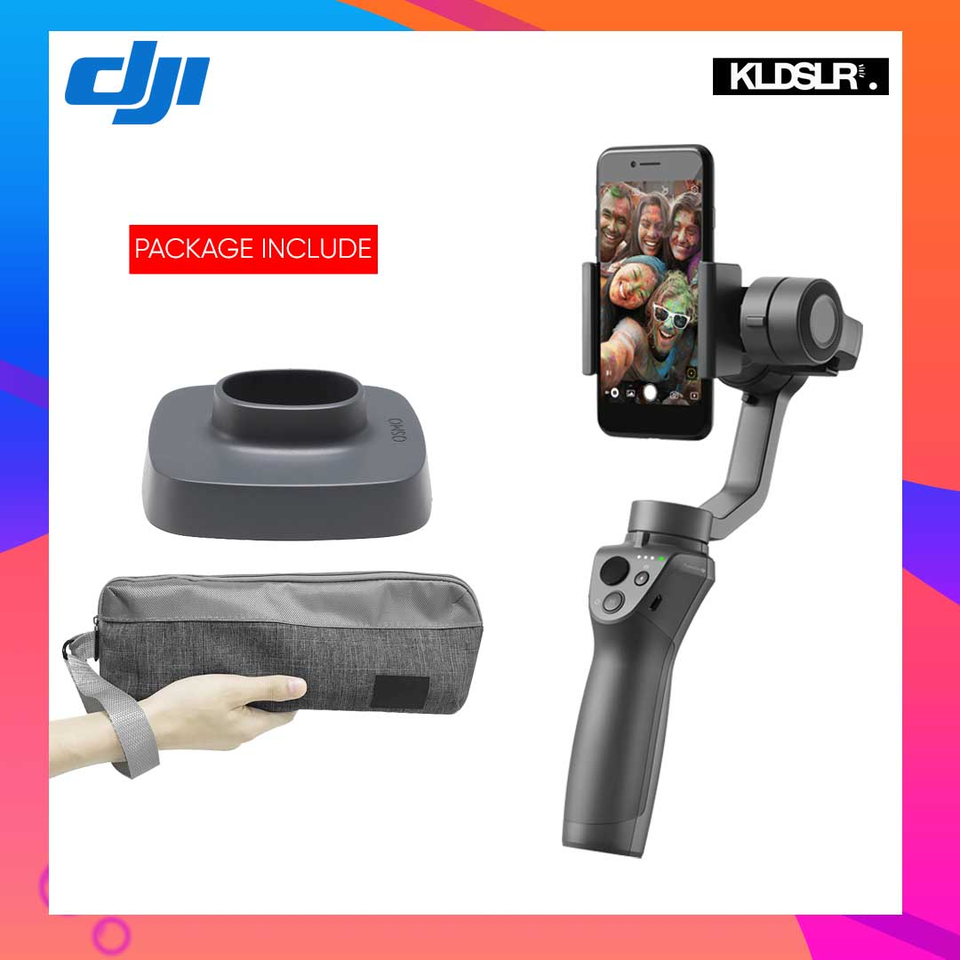 DJI Osmo Mobile 2 + Base & Bag