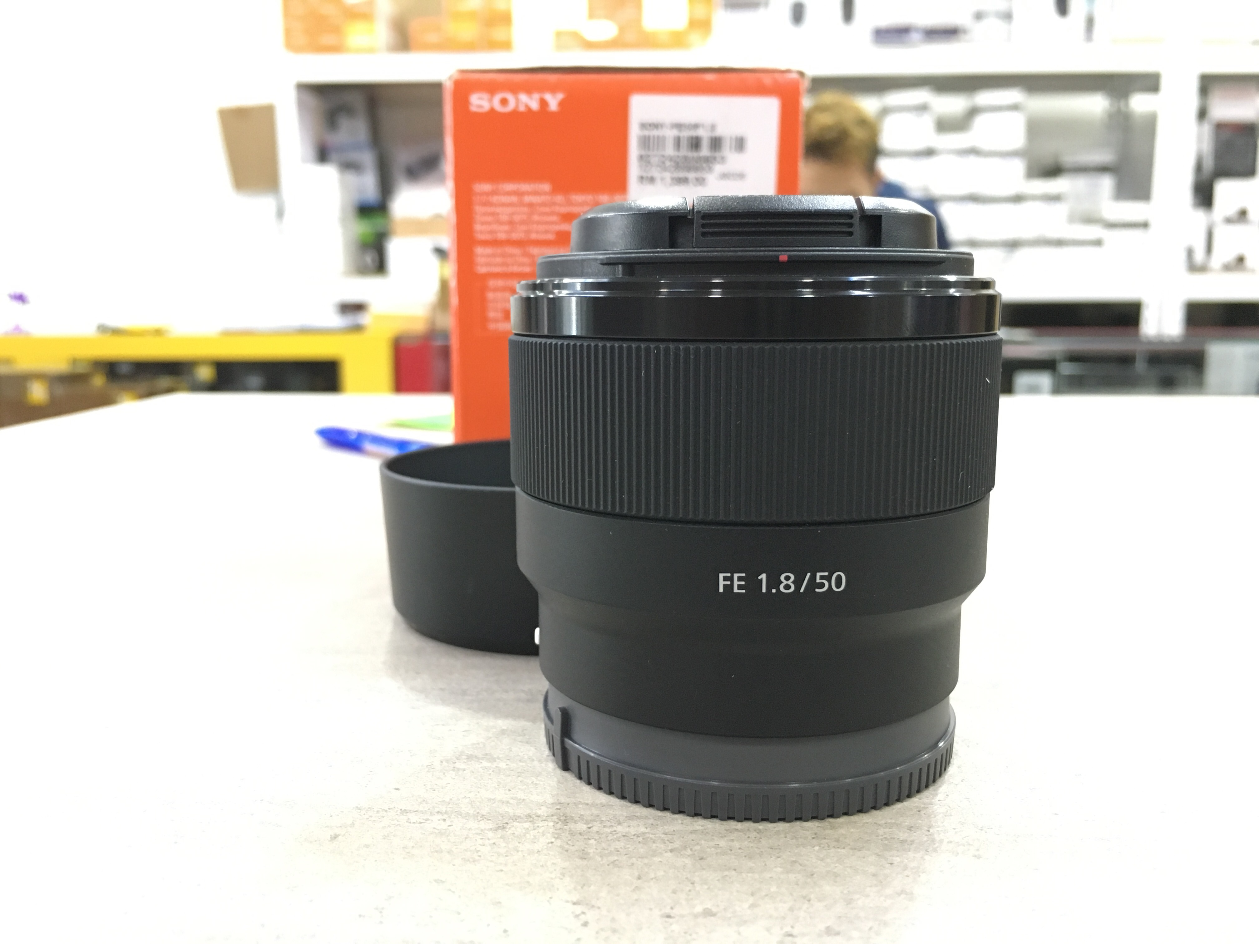 Used - Sony FE 50mm F1.8 Lens
