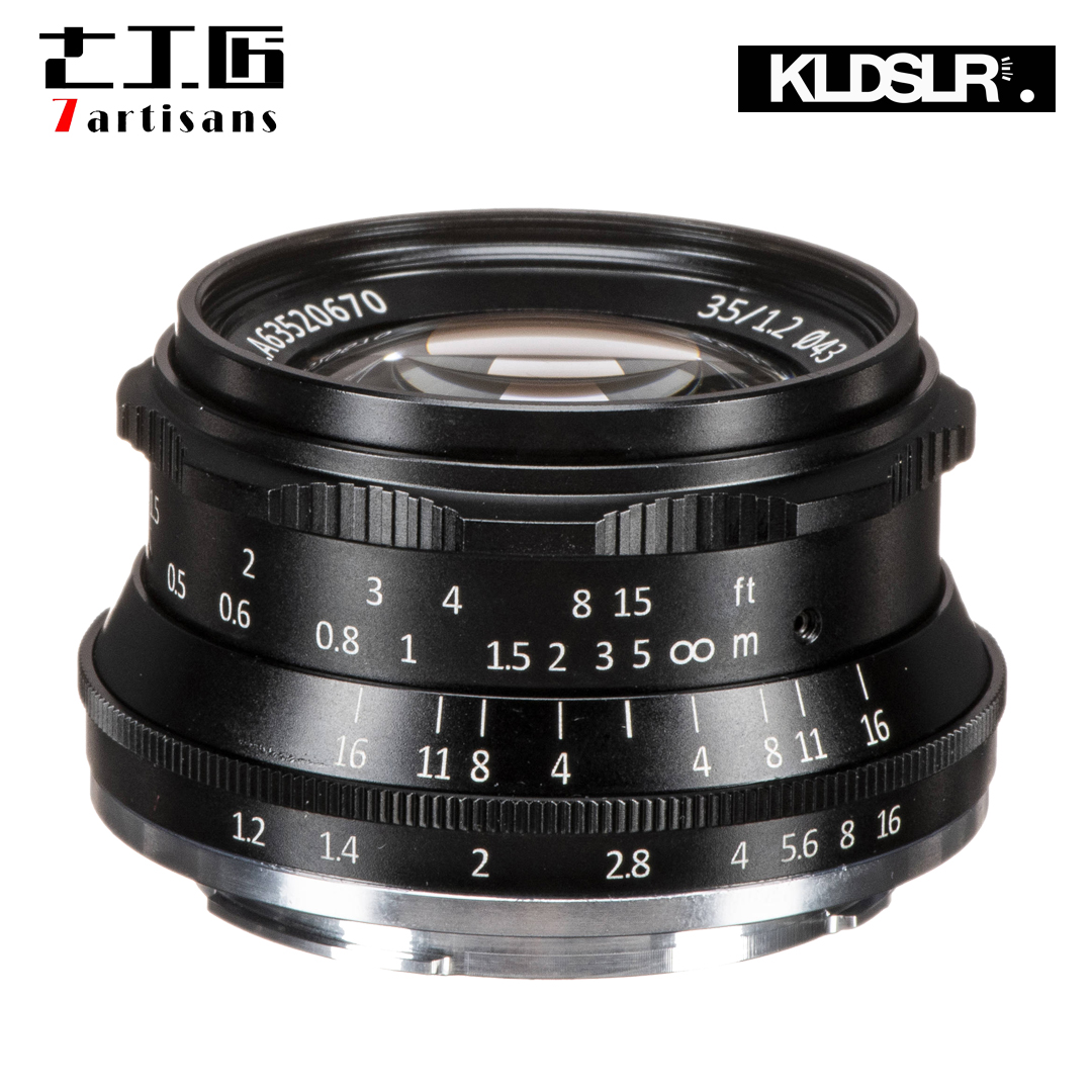 (Clearance) 7artisans Photoelectric 35mm F1.2 Lens for Sony E-Mount Cameras