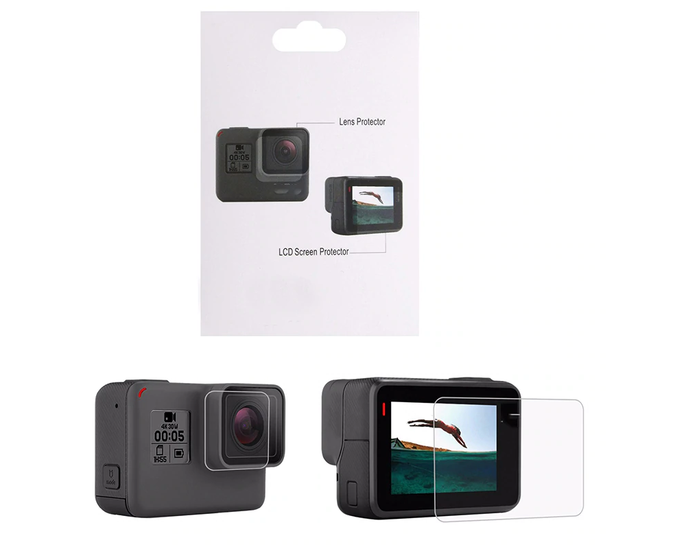 GoPro – Hero 7 & 8 Black Tempered Glass