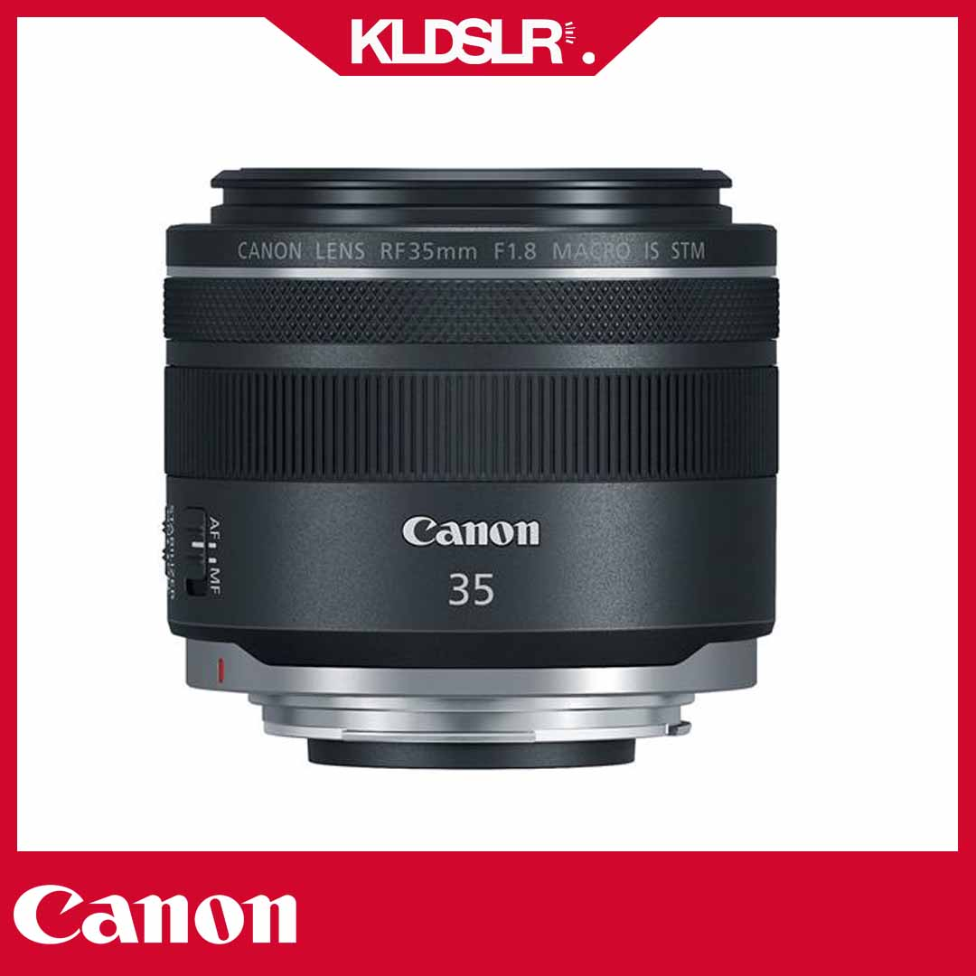Canon RF 35mm f1.8 IS Macro STM Lens (3 Months Warranty) (For Canon EOS R)